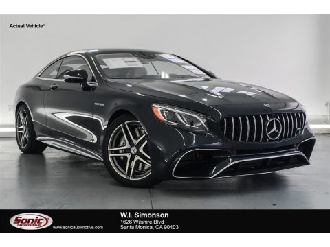 Anthracite Blue Metallic 2018 Mercedes-Benz S AMG S63 Coupe