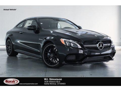 Obsidian Black Metallic 2018 Mercedes-Benz C 63 AMG Coupe