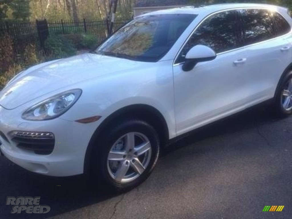 2014 Cayenne S - White / Black photo #1