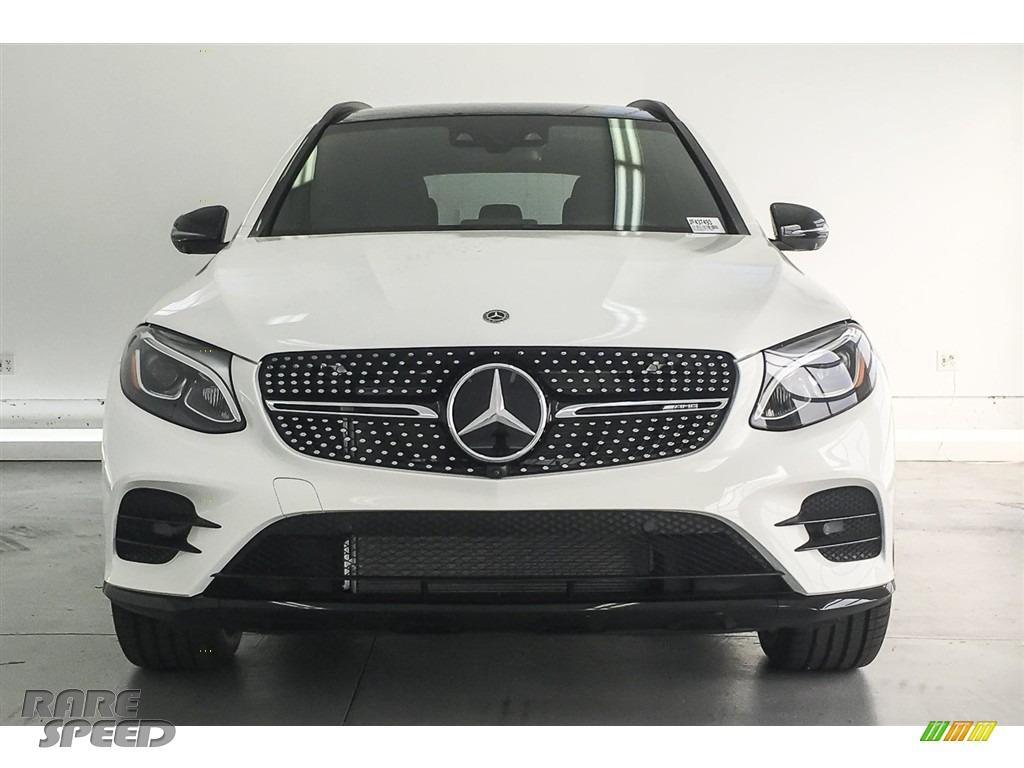2018 GLC AMG 43 4Matic - Polar White / designo Platinum White Pearl/Black photo #2