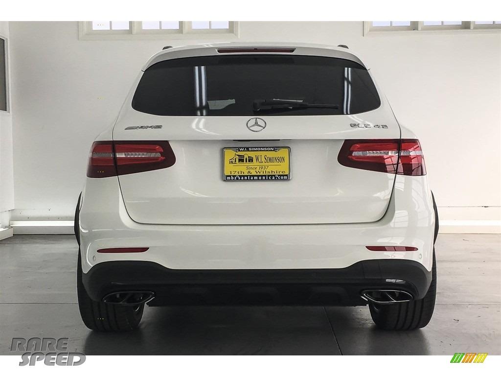 2018 GLC AMG 43 4Matic - Polar White / designo Platinum White Pearl/Black photo #3