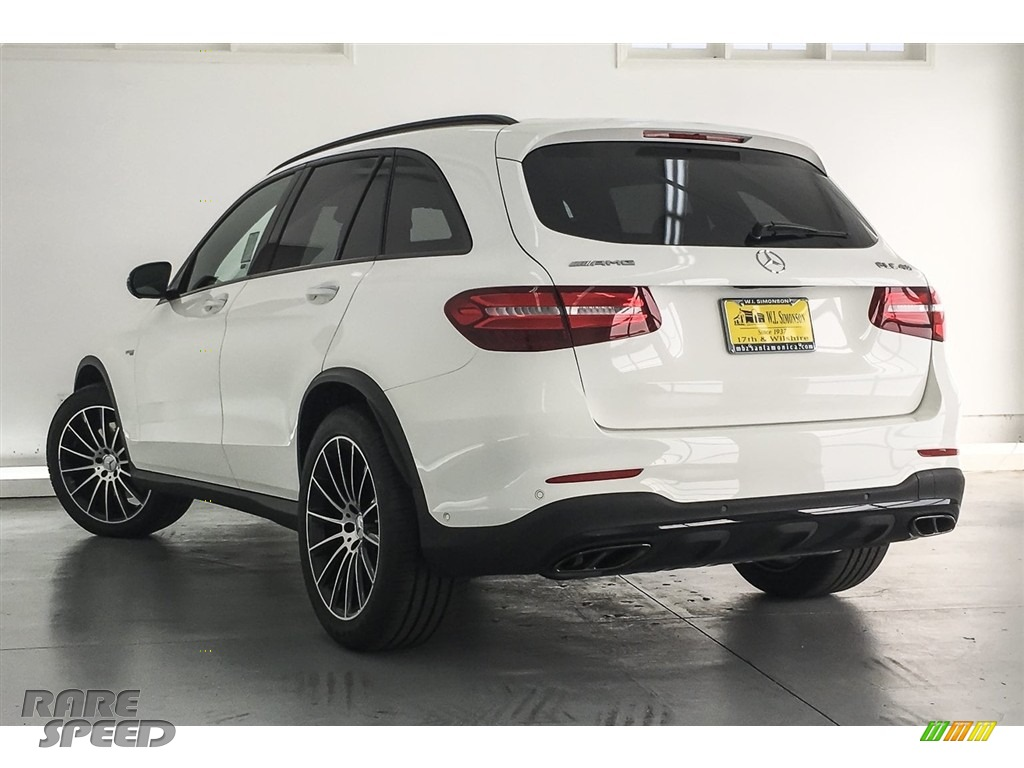 2018 GLC AMG 43 4Matic - Polar White / designo Platinum White Pearl/Black photo #10