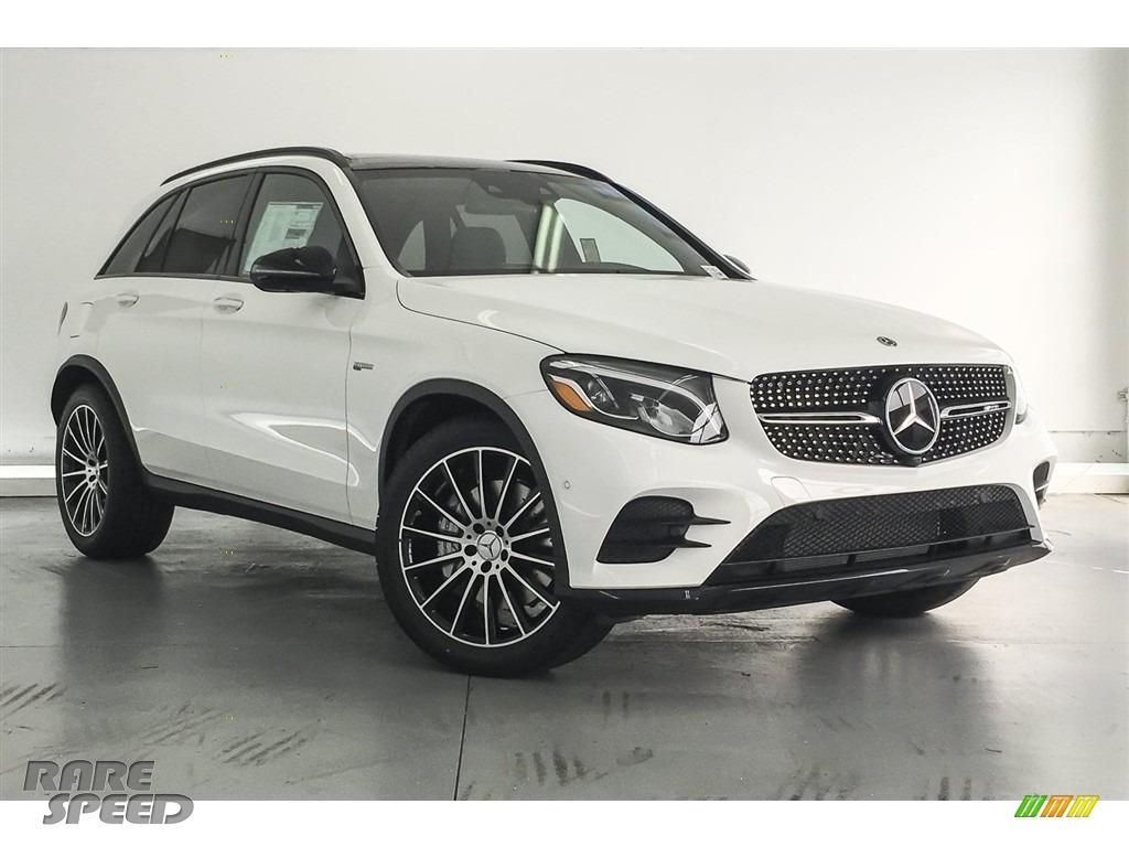 2018 GLC AMG 43 4Matic - Polar White / designo Platinum White Pearl/Black photo #12