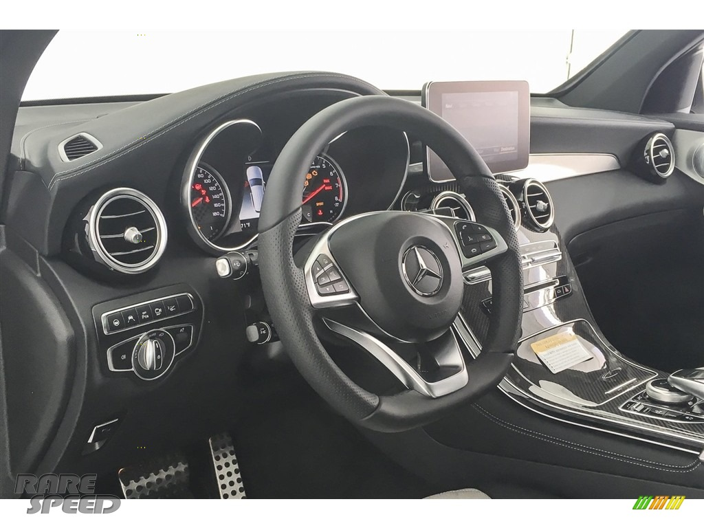 2018 GLC AMG 43 4Matic - Polar White / designo Platinum White Pearl/Black photo #20