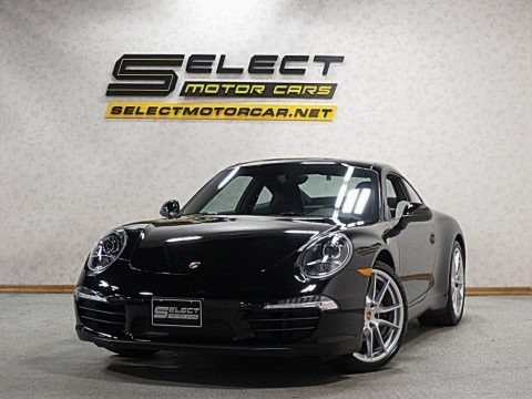 Black 2016 Porsche 911 Carrera Coupe