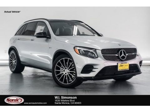 Iridium Silver Metallic 2018 Mercedes-Benz GLC AMG 43 4Matic