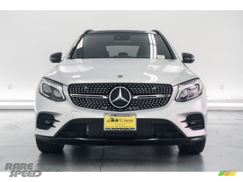 2018 GLC AMG 43 4Matic - Iridium Silver Metallic / Black photo #2