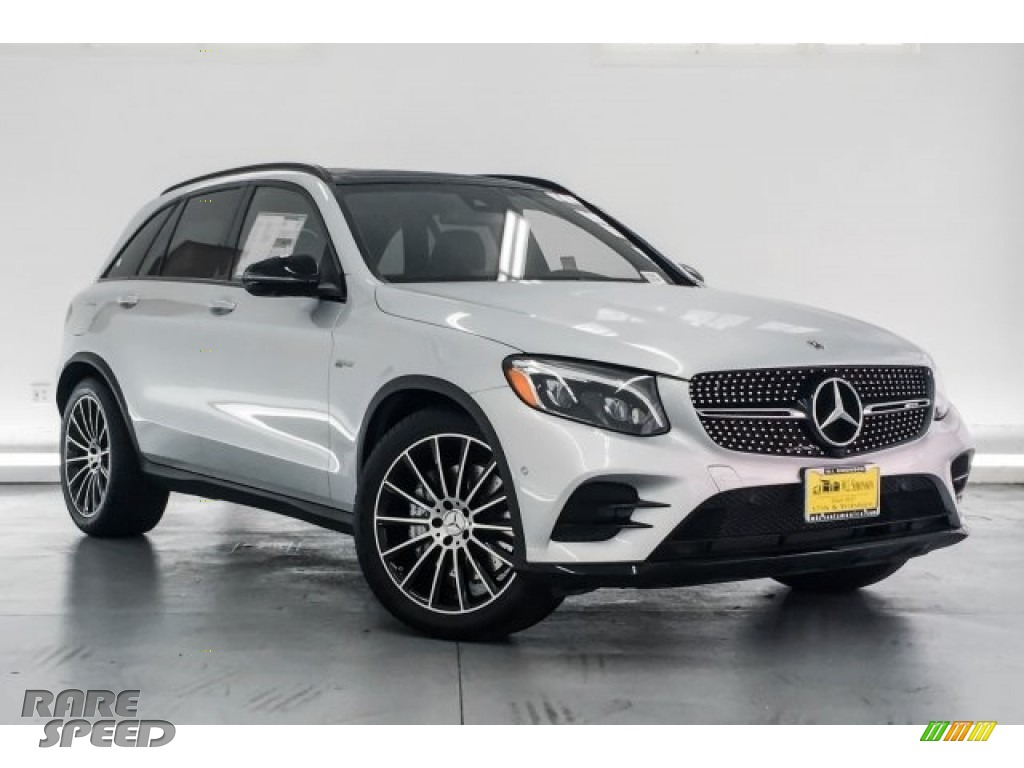 2018 GLC AMG 43 4Matic - Iridium Silver Metallic / Black photo #12
