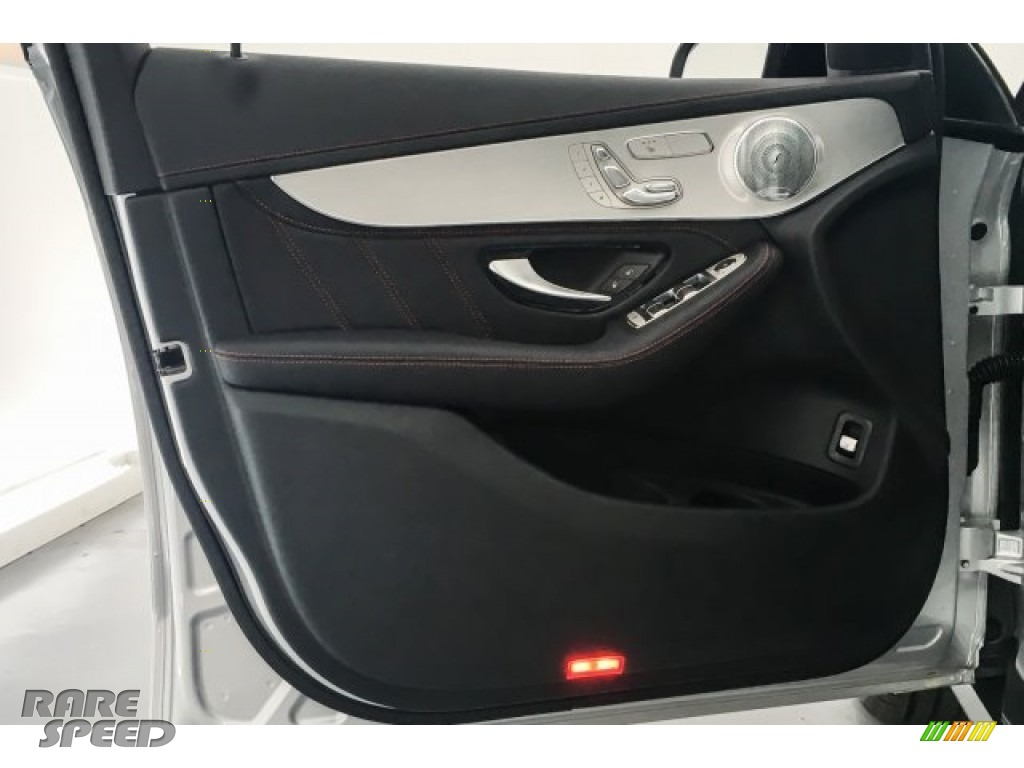 2018 GLC AMG 43 4Matic - Iridium Silver Metallic / Black photo #24
