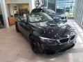 BMW M4 Convertible Azurite Black Metallic photo #1