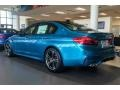 BMW M5 Sedan Snapper Rocks Blue Metallic photo #3