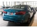 BMW M5 Sedan Snapper Rocks Blue Metallic photo #4