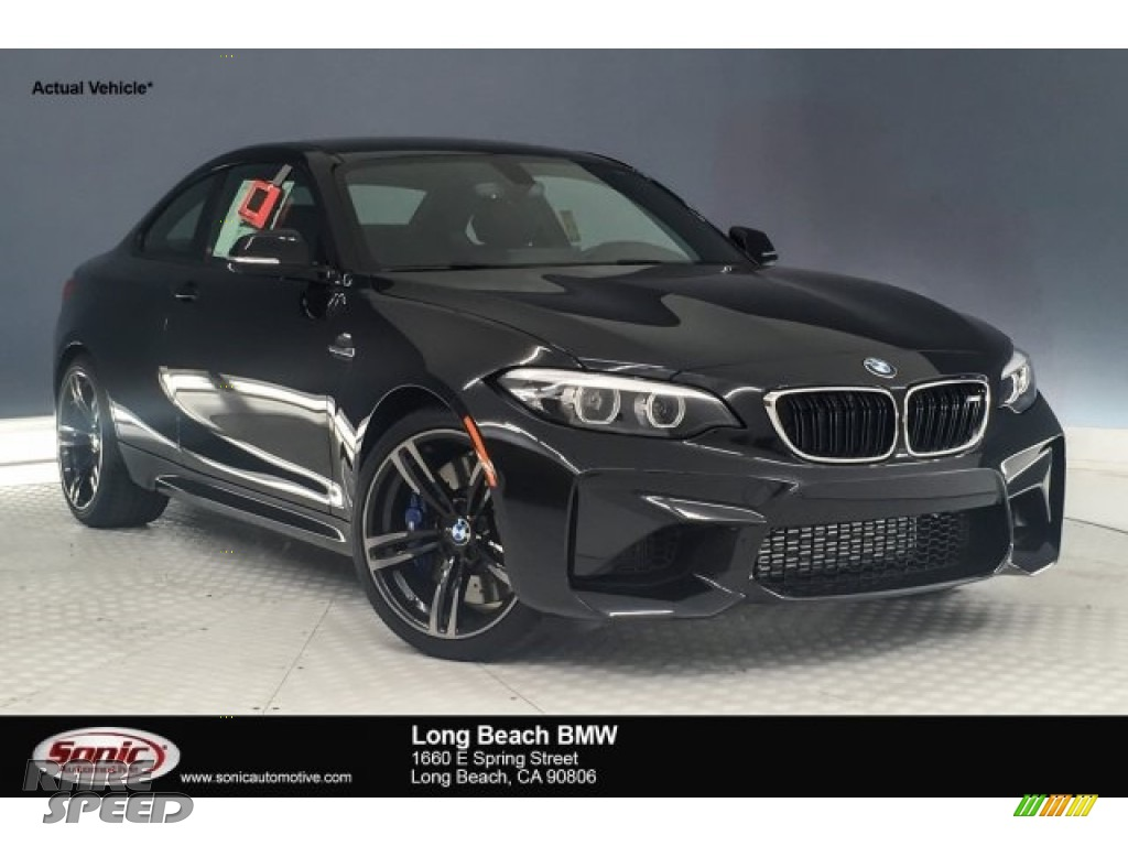 2018 M2 Coupe - Black Sapphire Metallic / Black photo #1