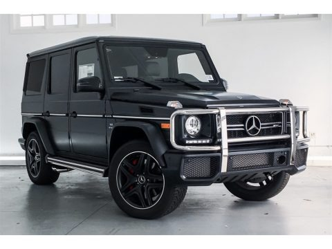 designo Night Black Magno (Matte) 2018 Mercedes-Benz G 63 AMG