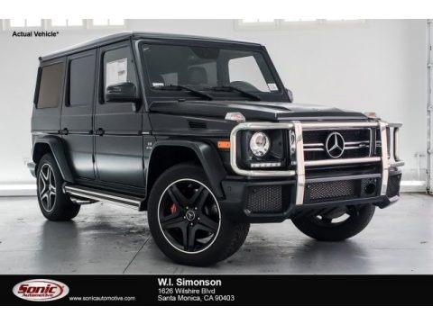 designo Night Black Magno (Matte) 2018 Mercedes-Benz G 63 AMG