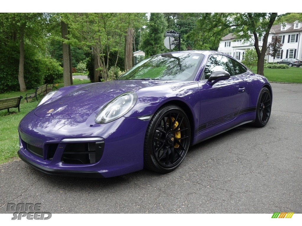 Ultraviolet / Black Porsche 911 Carrera GTS Coupe