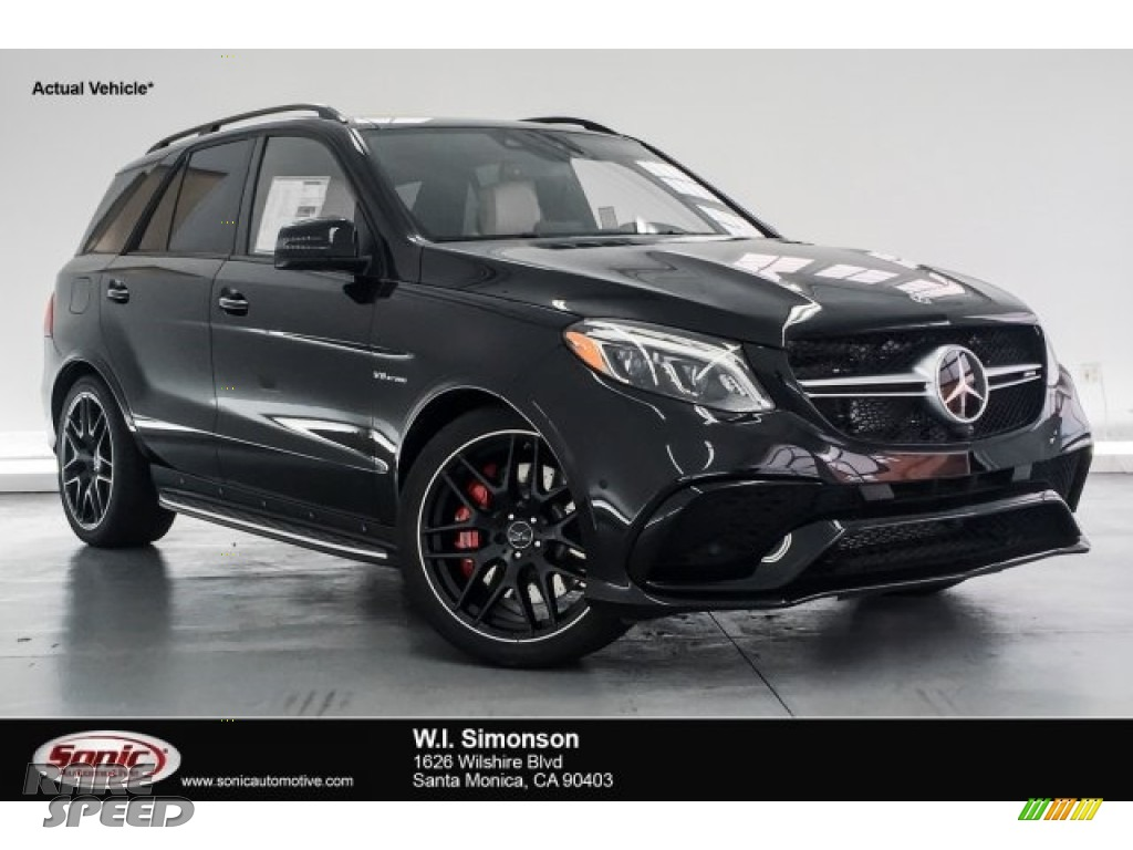 2018 GLE 63 S AMG 4Matic - Obsidian Black Metallic / Porcelain/Black photo #1