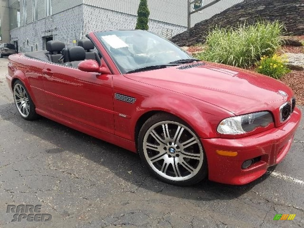 2006 M3 Convertible - Imola Red / Black photo #1