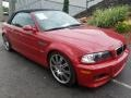 BMW M3 Convertible Imola Red photo #12