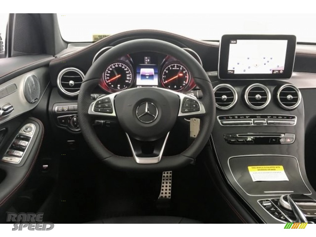 2018 GLC AMG 43 4Matic Coupe - designo Diamond White Metallic / Black photo #4