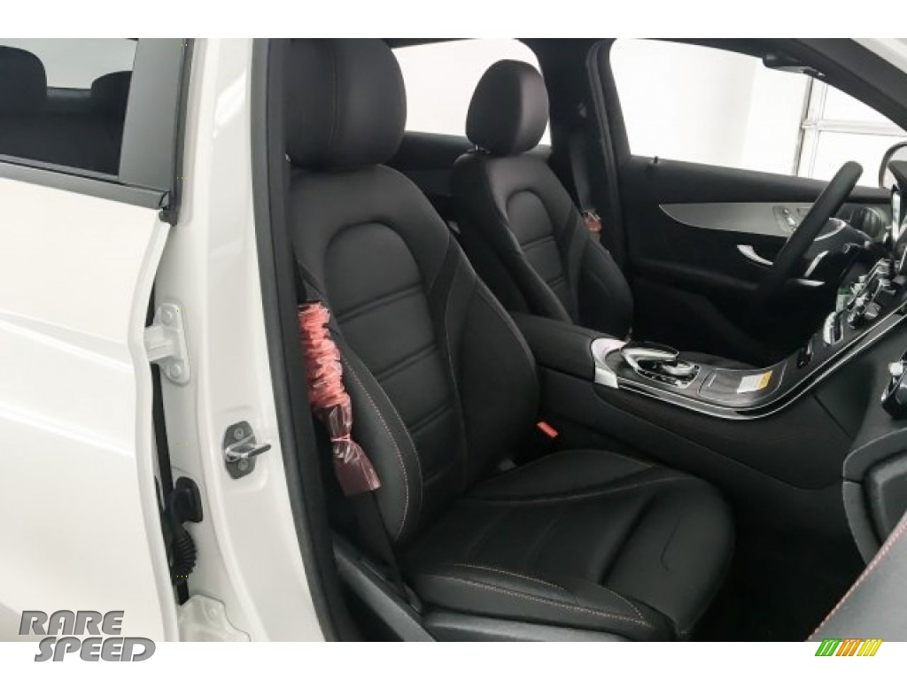 2018 GLC AMG 43 4Matic Coupe - designo Diamond White Metallic / Black photo #6
