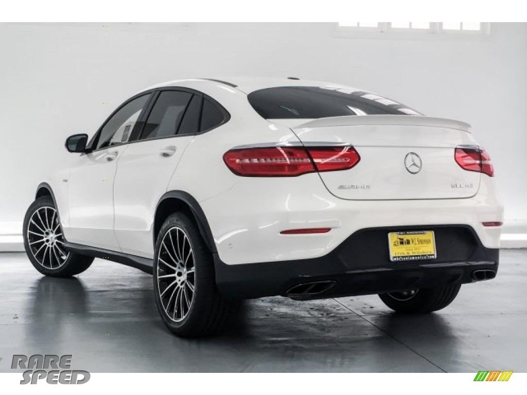 2018 GLC AMG 43 4Matic Coupe - designo Diamond White Metallic / Black photo #10