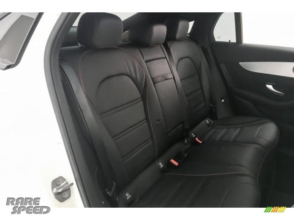 2018 GLC AMG 43 4Matic Coupe - designo Diamond White Metallic / Black photo #15