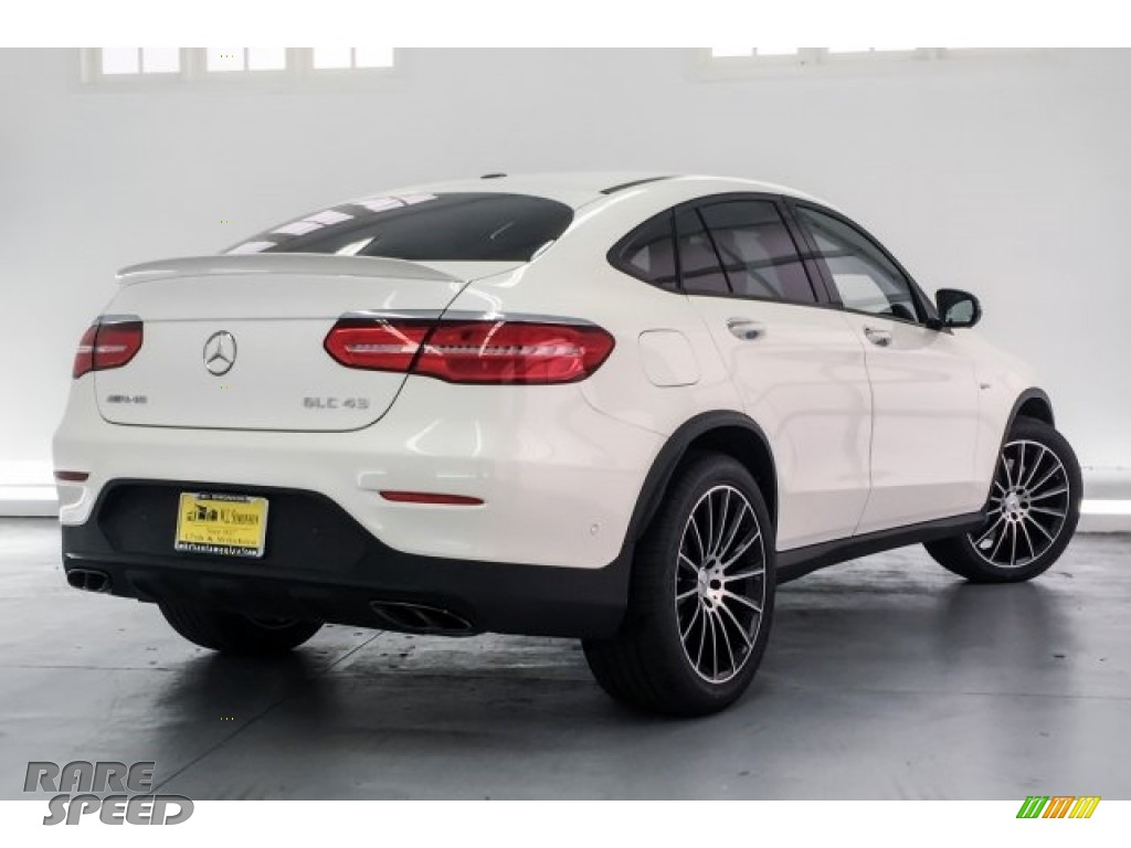 2018 GLC AMG 43 4Matic Coupe - designo Diamond White Metallic / Black photo #16