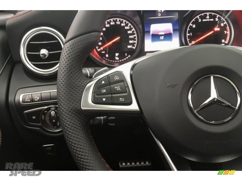 2018 GLC AMG 43 4Matic Coupe - designo Diamond White Metallic / Black photo #18