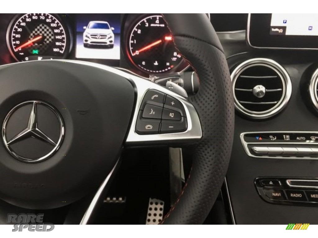 2018 GLC AMG 43 4Matic Coupe - designo Diamond White Metallic / Black photo #19