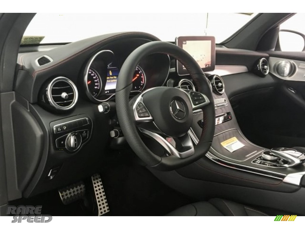 2018 GLC AMG 43 4Matic Coupe - designo Diamond White Metallic / Black photo #20
