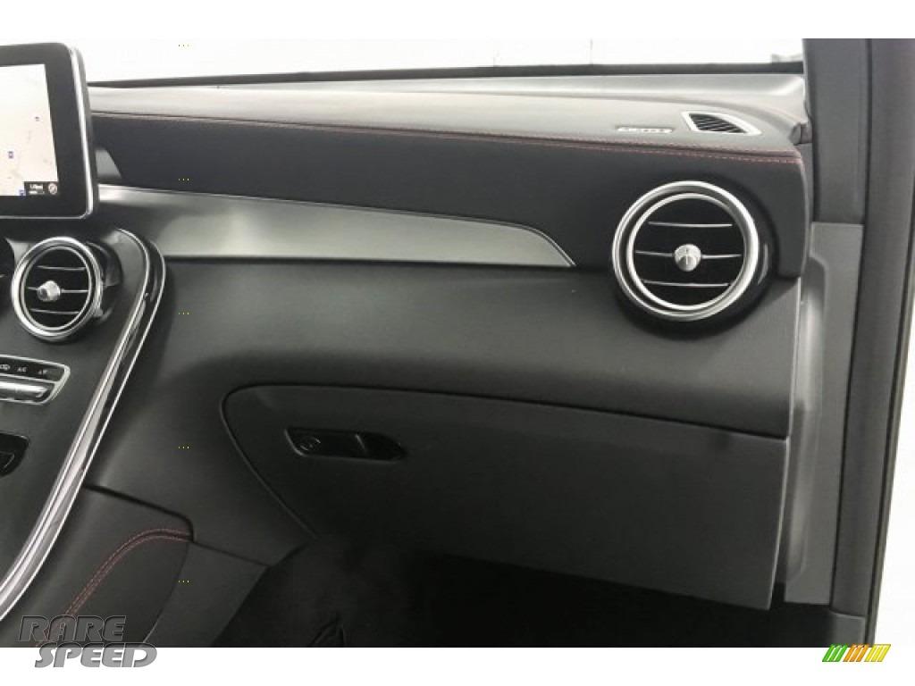 2018 GLC AMG 43 4Matic Coupe - designo Diamond White Metallic / Black photo #27