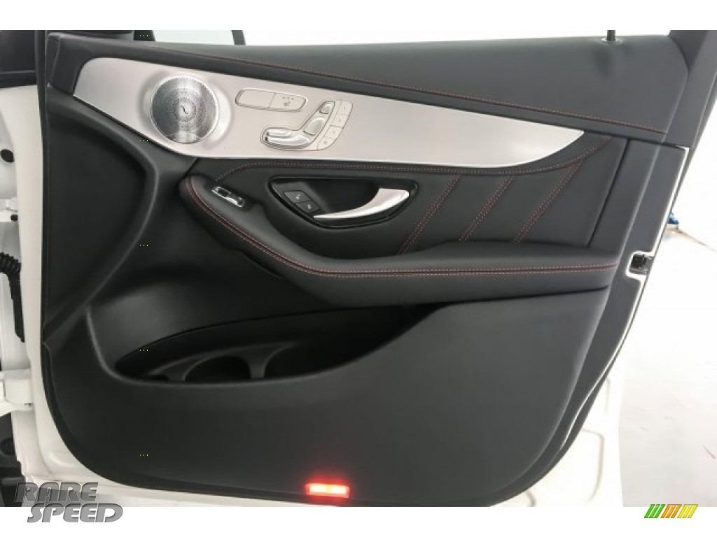 2018 GLC AMG 43 4Matic Coupe - designo Diamond White Metallic / Black photo #30
