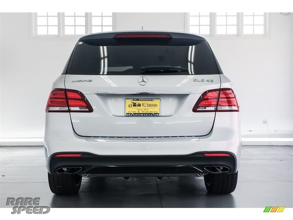 2018 GLE 43 AMG 4Matic - Iridium Silver Metallic / Black photo #3