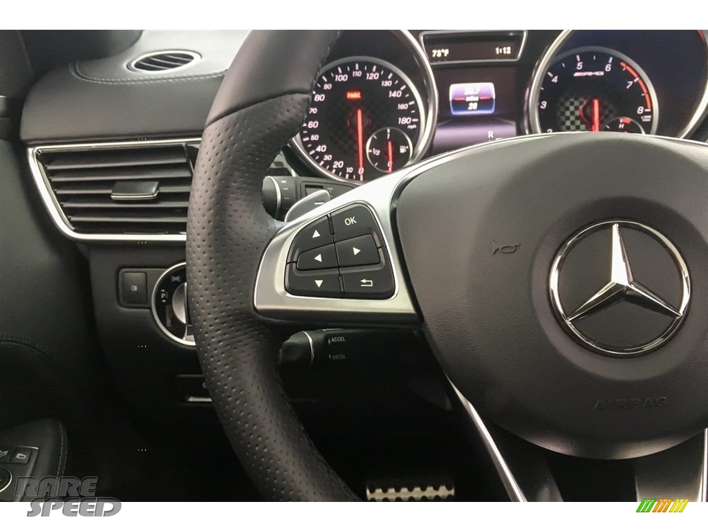 2018 GLE 43 AMG 4Matic - Iridium Silver Metallic / Black photo #18