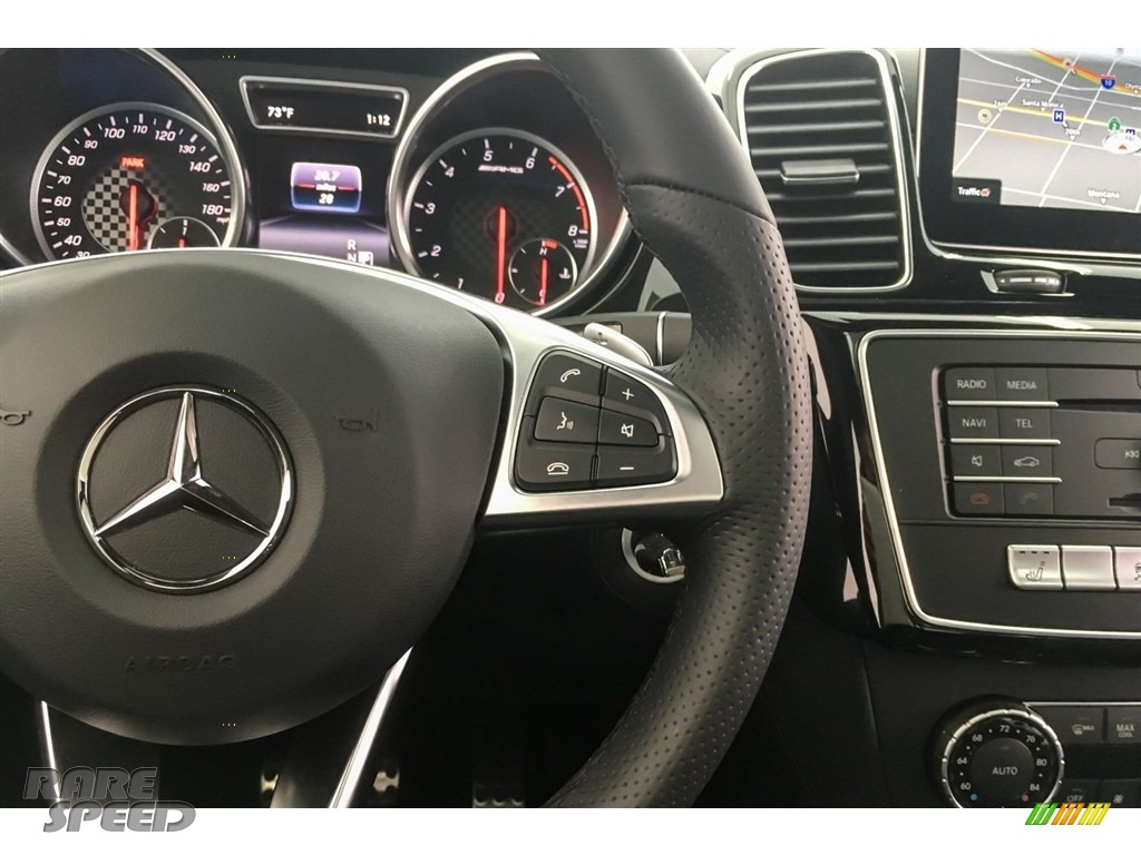 2018 GLE 43 AMG 4Matic - Iridium Silver Metallic / Black photo #19