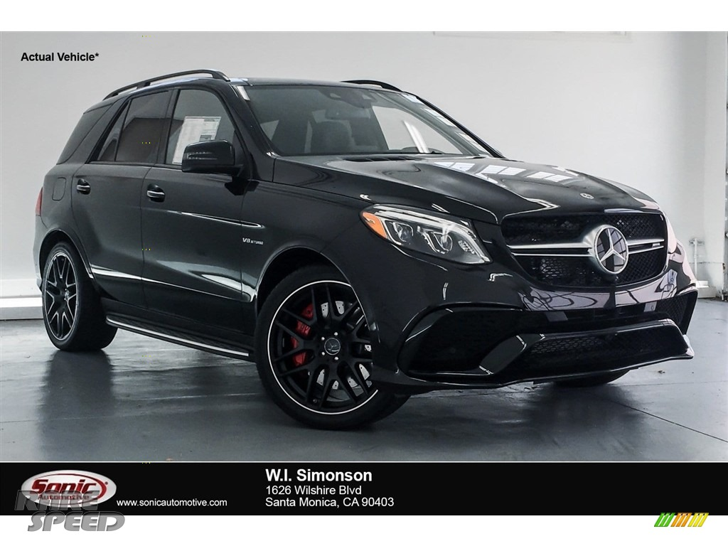 2018 GLE 63 S AMG 4Matic - Obsidian Black Metallic / Black photo #1