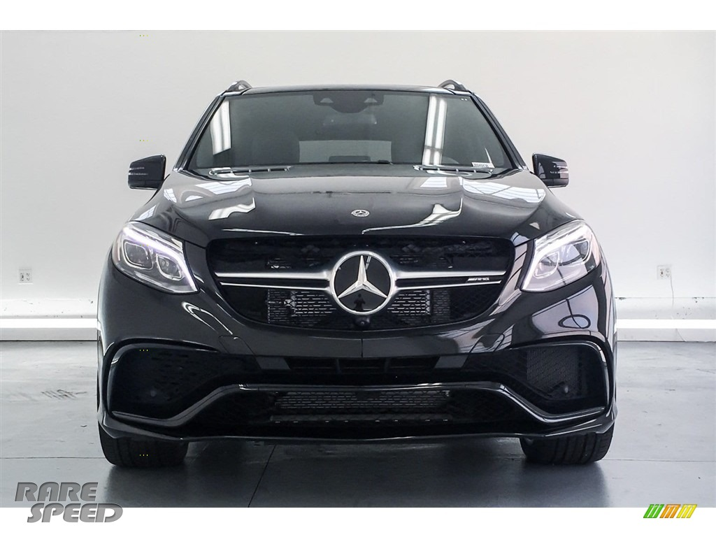 2018 GLE 63 S AMG 4Matic - Obsidian Black Metallic / Black photo #2