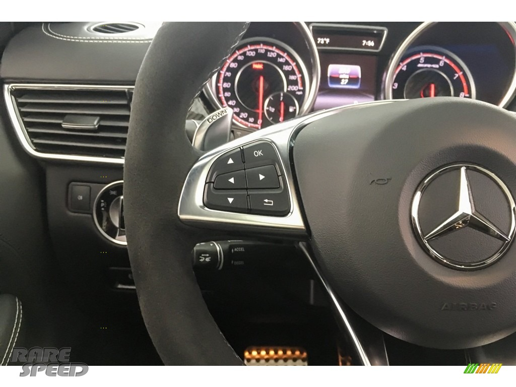 2018 GLE 63 S AMG 4Matic - Obsidian Black Metallic / Black photo #18
