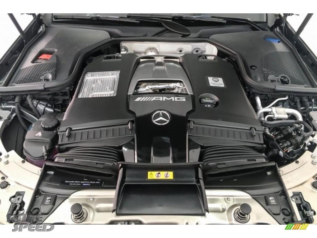 2018 E AMG 63 S 4Matic Wagon - Selenite Grey Metallic / Black photo #9