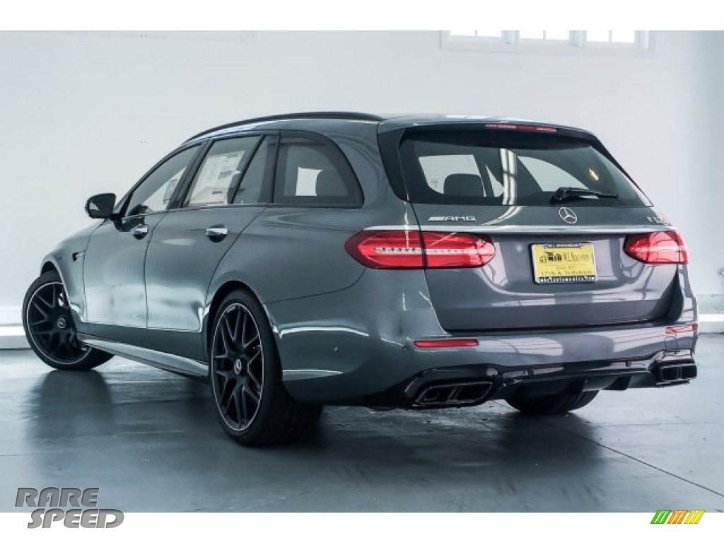 2018 E AMG 63 S 4Matic Wagon - Selenite Grey Metallic / Black photo #10