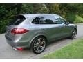 Porsche Cayenne Turbo Meteor Grey Metallic photo #6