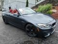 BMW M4 Convertible Mineral Grey Metallic photo #1