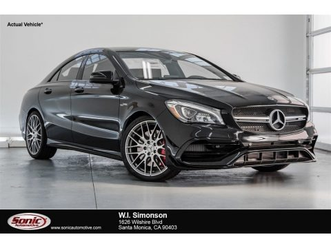 Night Black 2018 Mercedes-Benz CLA AMG 45 Coupe
