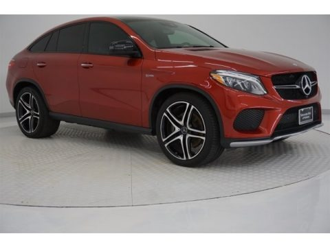 designo Cardinal Red Metallic 2017 Mercedes-Benz GLE 43 AMG 4Matic Coupe