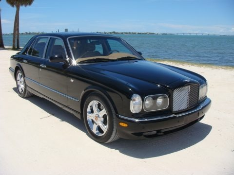 Black 2004 Bentley Arnage R