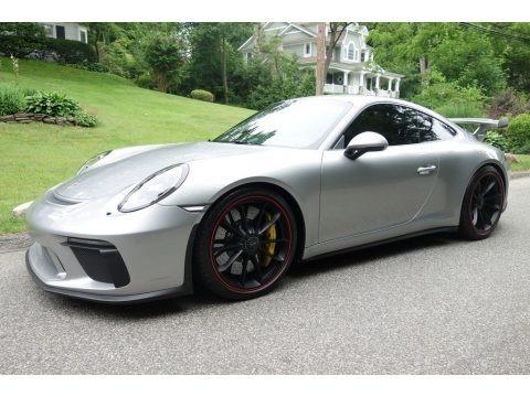 GT Silver Metallic 2018 Porsche 911 GT3