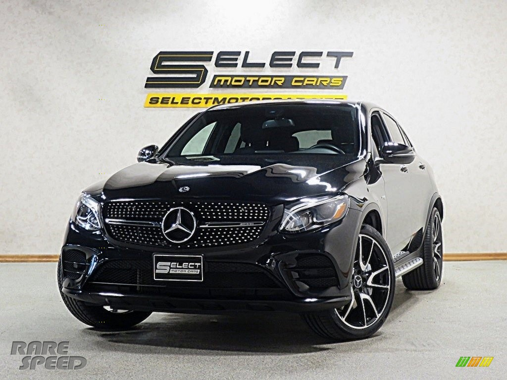 Black / Black Mercedes-Benz GLC AMG 43 4Matic Coupe