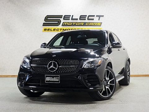 Black 2018 Mercedes-Benz GLC AMG 43 4Matic Coupe