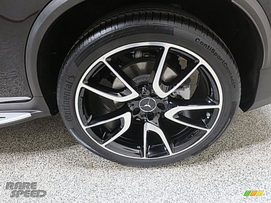 2018 GLC AMG 43 4Matic Coupe - Black / Black photo #13